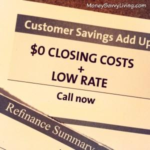 Mortgage Refinance Mailer