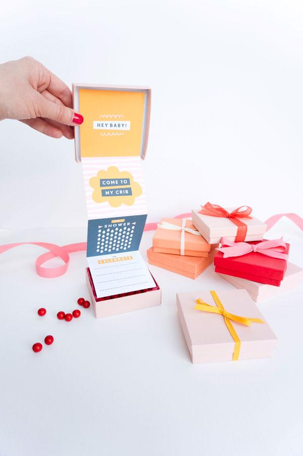 Invitation in a Box // Oh Happy Day